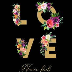 Digital Download LOVE never fails