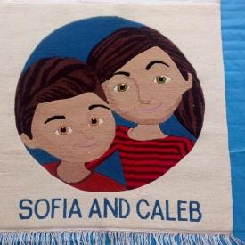 Sofia & Caleb wall Rug