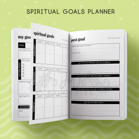 Spiritual Goals Notebook - JWPrintables