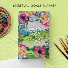 Spiritual Goals Planner Notebook [ 104 Pgs ]