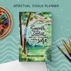 Spiritual Goals Planner – Notebook | JW Gifts