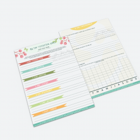 Spiritual Goals Planner - JWPrintables - Preview