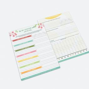 Spiritual Goals Planner - JWPrintables - Preview