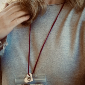 Convention Badge Holder & Necklace – Suede 5 Colours