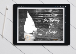 Well Done for Taking The Plunge Digital Postcard