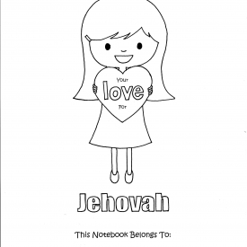 Maintain Your Love For Jehovah Children's Circuit Assembly Activity Notebook – Instant PDF Download