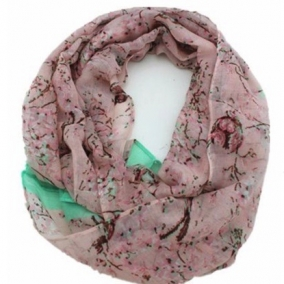 French Inspired Cotton Loop Scarf