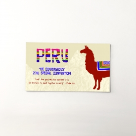 Peru 2018 Special Convention gift