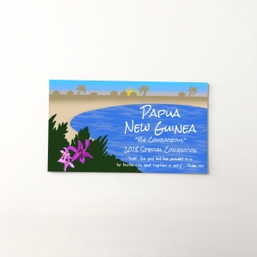 Papua New Guinea 2018 Special Convention gift