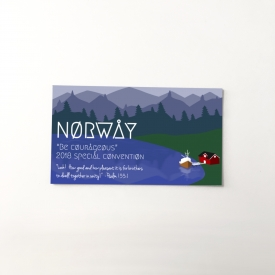 Norway 2018 Special Convention gift