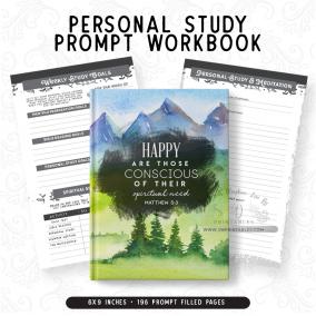 Personal Study Workbook – Masculine