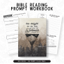 Bible Reading Workbook – Masculine