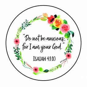 2019 Yeartext Magnet (Isaiah 41:10)