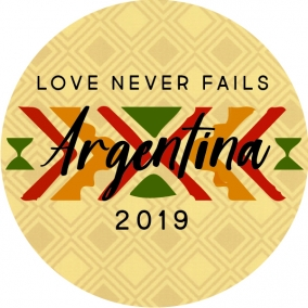 Love Never Fails – Argentina Stickers