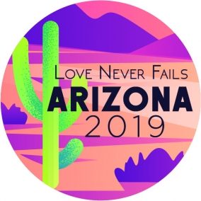 Love Never Fails – Arizona Stickers