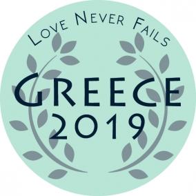 Love Never Fails – Greece Stickers