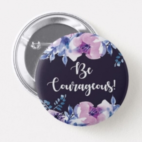 Pack of TEN (10) 2018 Be Courageous! Convention of Jehovah's Witnesses Pin Badges