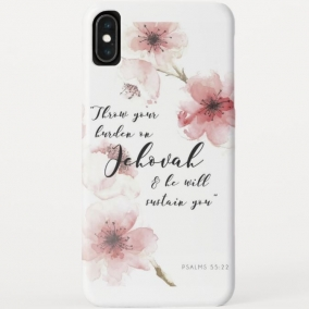 Ps. 55:22 Phone Case