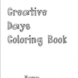 Creative Days Coloring Book