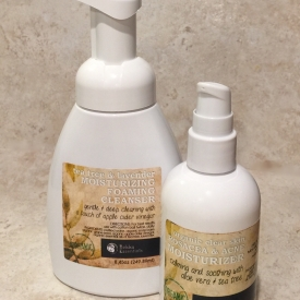 Organic Roscea & acne treatment cleanser duo!
