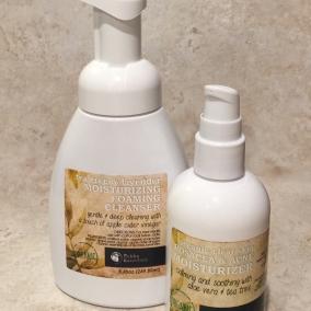 Organic Roscea & acne treatment cleanser duo!