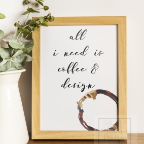 Coffee Print Instant Download