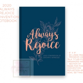 2020 Always Rejoice Notebook