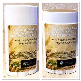 Organic Deodorant! Bentonite clay anti-perperant odor and wtness protection!