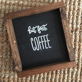 first Coffee Box Frame