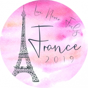 Love Never Fails – France Stickers