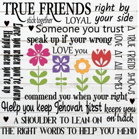 True Friends SVG file
