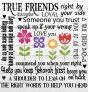 True Friends SVG file
