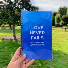 Blue Love Never Fails 2019 Convention Notebook