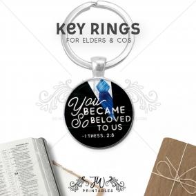 Elder Appreciation Key Chain | JW Key Ring | Elder Key Ring – JW Gift Keychain – Best Life Ever – Elders & CO Gifts