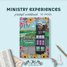 Ministry Experiences Notebook | Feminine | Best Life Ever – Pioneer Gifts – JW Gifts – Return Visits Notebook –