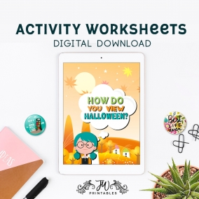How Do You View Halloween? • JW Kids Activity Workbook
