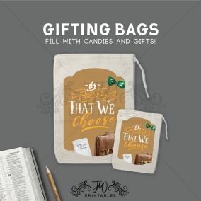 Elder & CO Gift Bags | JW Candy Gift Bags – Pioneer Gift Bags – Elder Gift Bags – JW Gift Bags – Baptism Gift Bags – Pioneer Sweets