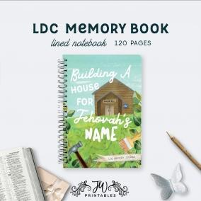 LDC Memory Notebook | Best Life Ever – Scripture Notebook – Ldc Gifts – JW Gifts – JW Workbook – Theocratic Notes