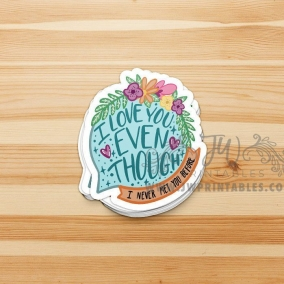 Joy of Conventions Stickers | 3 Inch Stickers | Convention Pins – JW Pins – Convention Stickers – Jw Stickers – Love never fails stickers