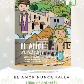 El Amor Nunca Falla • JW Libro de colorear