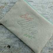 Best life ever pouch