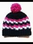 Men/ Large Adult Crochet Pom Pom Beanie