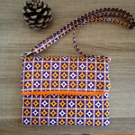 CROSSBODY BAG / CLUTCH – PURPLE BEATS