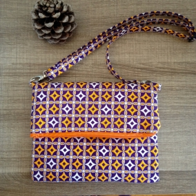 CROSSBODY BAG / CLUTCH – PURPLE BEATS