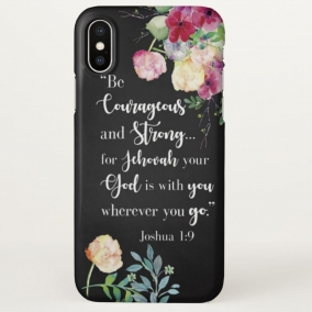 Joshua 1:9 Phone Case