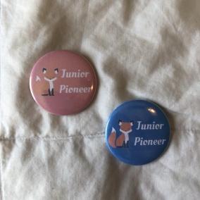 Junior Pioneer Fox Pins