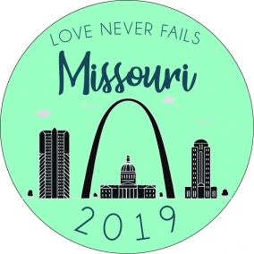 Love Never Fails – Missouri Stickers