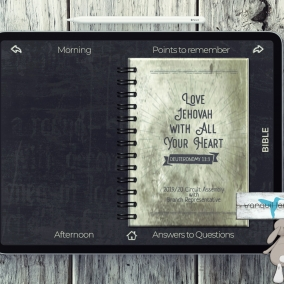 Hyperlinks – Digital Notebook PDF Regular 2019/20 Love Jehovah With All Your Heart- Branch Rep. with *FREE Download*