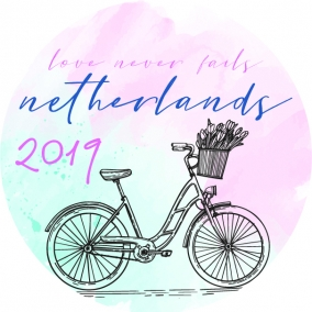 Love Never Fails – Netherlands Stickers