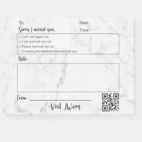 Ministry Sticky Notes – 8 Pack